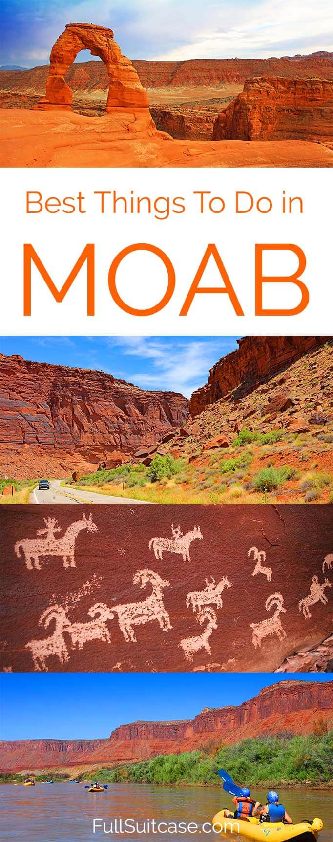 5 best things to do in Moab, Utah and trip itinerary for 2 to 3 days