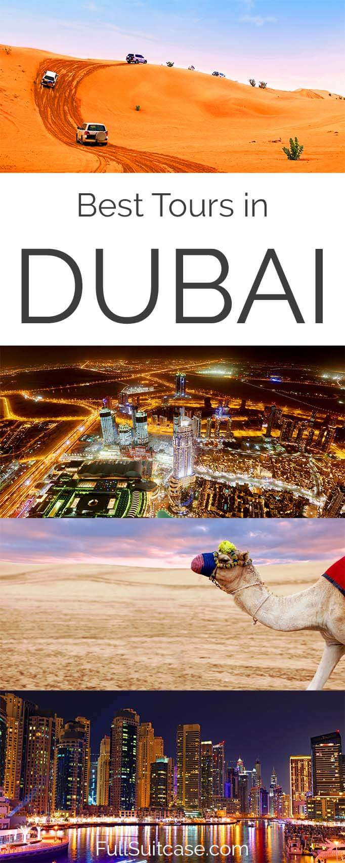 Best excursions, tours, and day trips in Dubai UAE