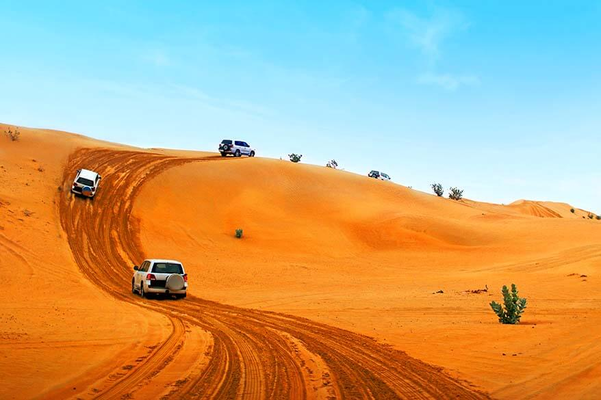 Best tours excursions and day trips in Dubai