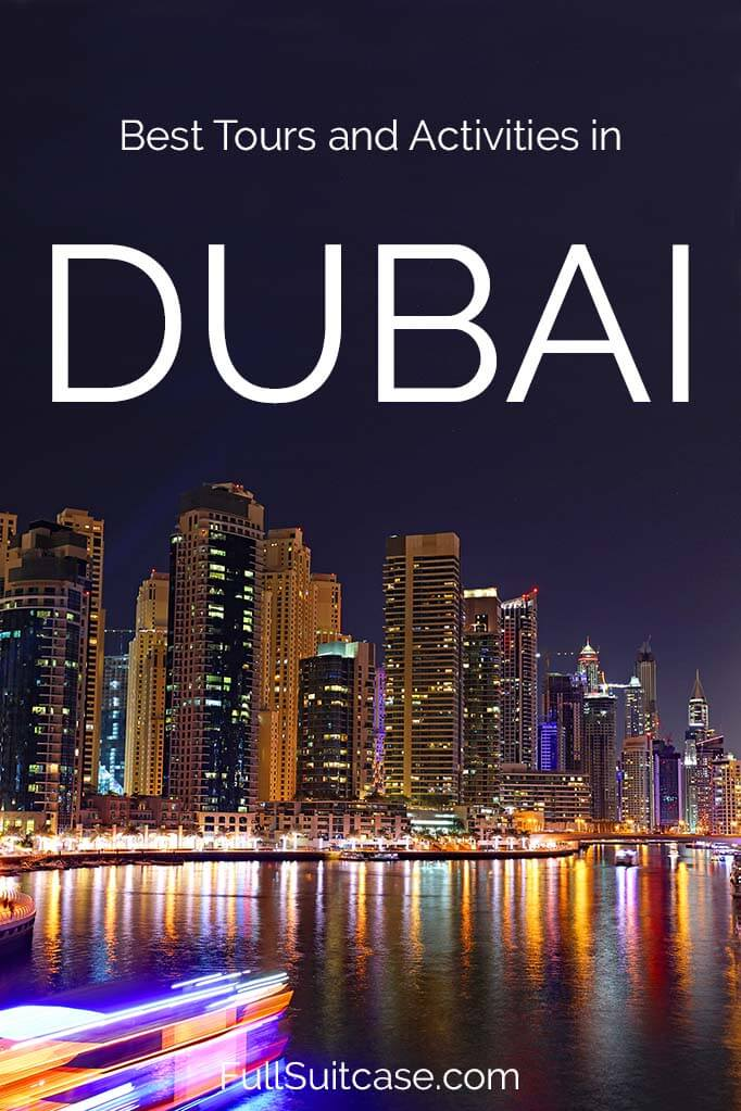 Dubai tours and best activities for tourists