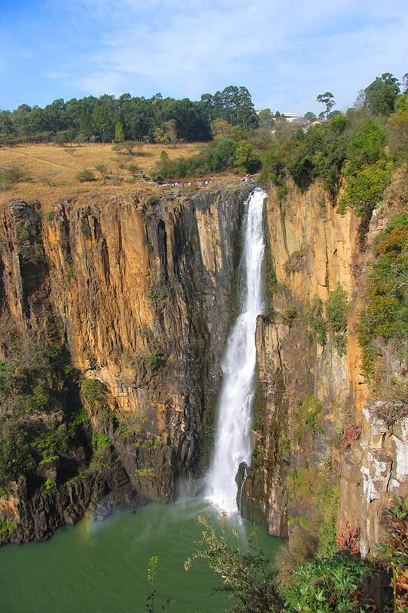 Howick waterfall in South Africa