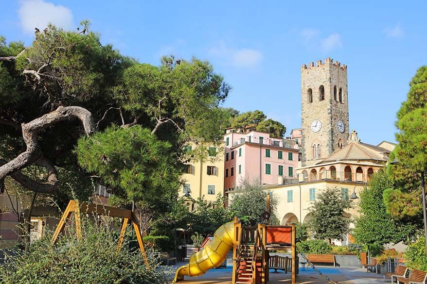 Monterosso al Mare town square