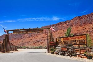 Red Cliffs Lodge is one of the most scenically located hotels near Moab in Utah
