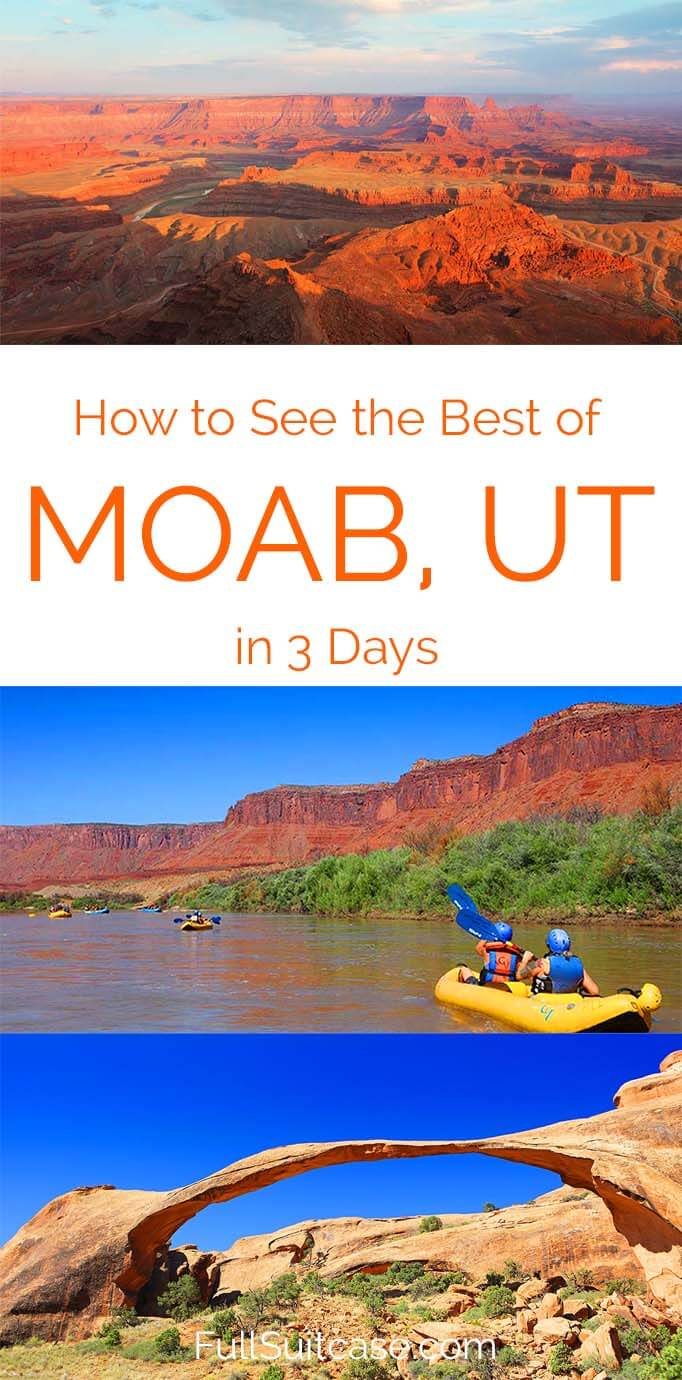 See the best of Moab with this 3 day itinerary that brings you to all the must see places in the area