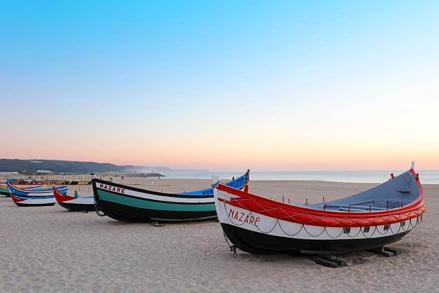 A guide to visiting Nazare in Portugal