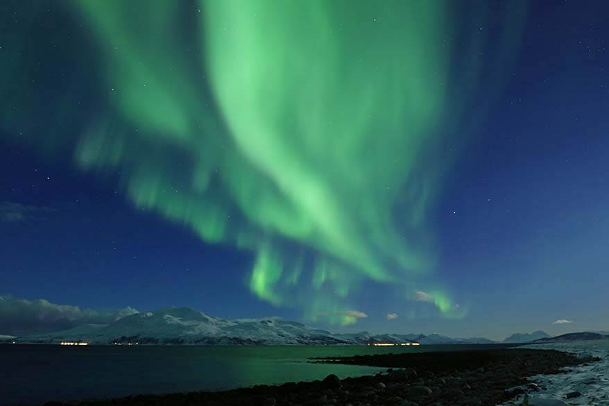Aurora near Tromso in Norway