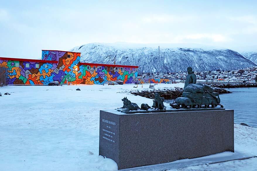 Helmer Hanssen statue in Tromso