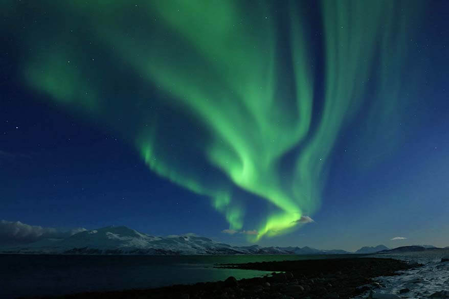 Watching Northern Lights in Tromso Norway