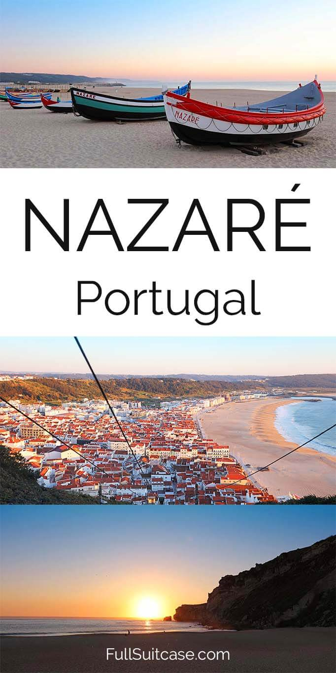 Short guide to visiting Nazare in Portugal