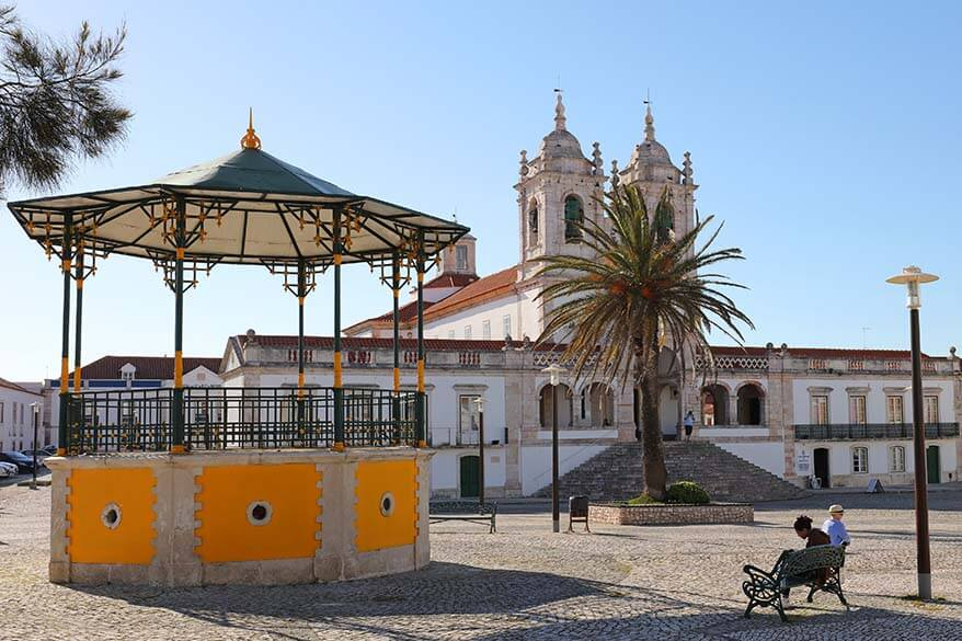 The Sanctuary of OurLadyofNazare in O Sitio