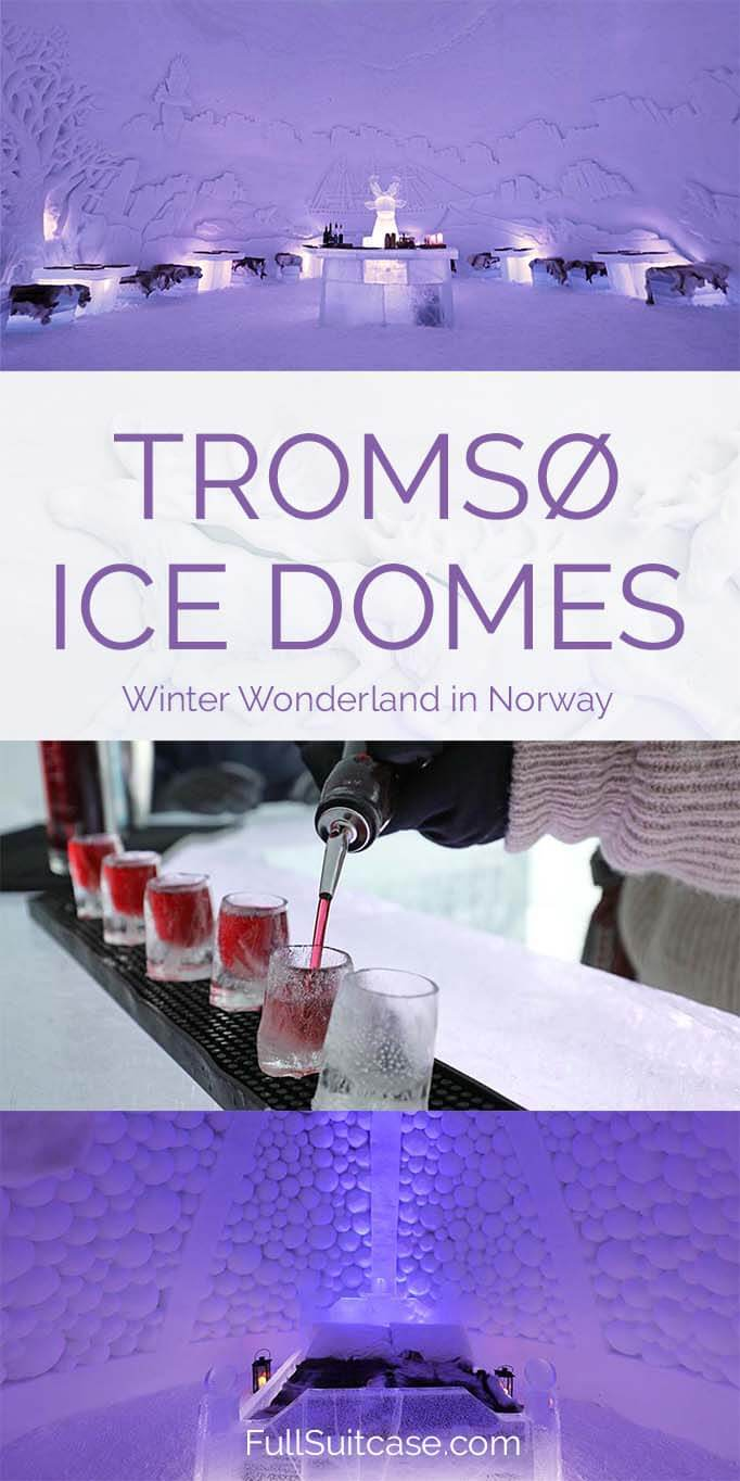 Visit Tromso Ice Domes - a true winter wonderland in Northern Norway