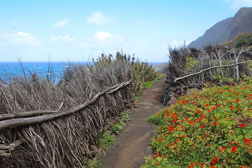 A tiny coastal area that can be reached by Achadas da Cruz cable car in Madeira