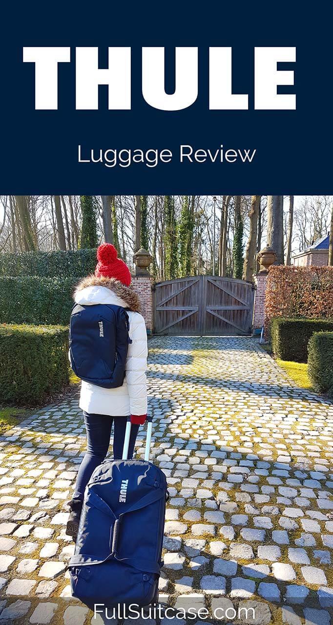 Thule Subterra travel bags review