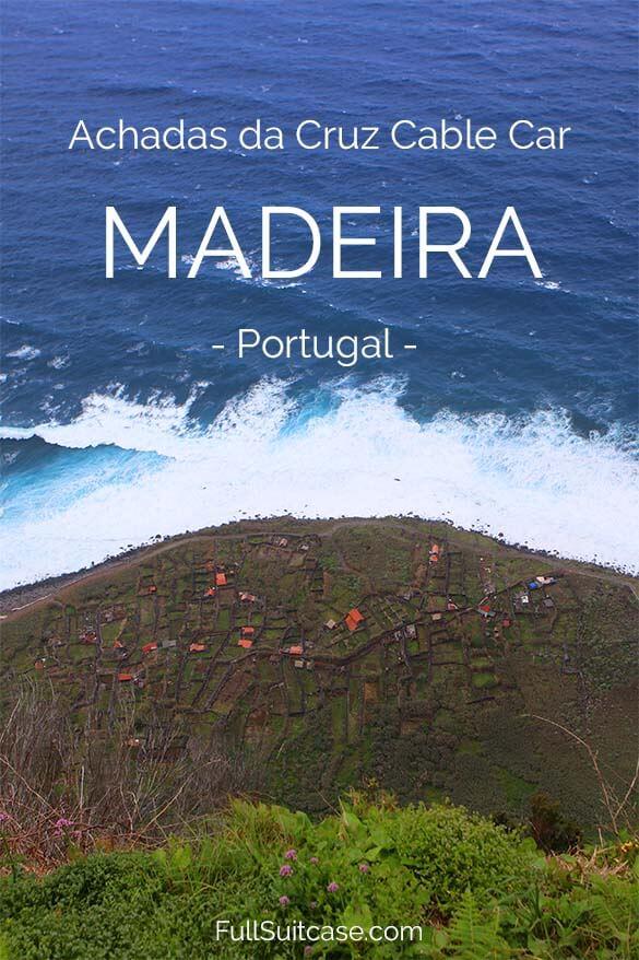 Achadas da Cruz cable car is a true hidden gem of Madeira