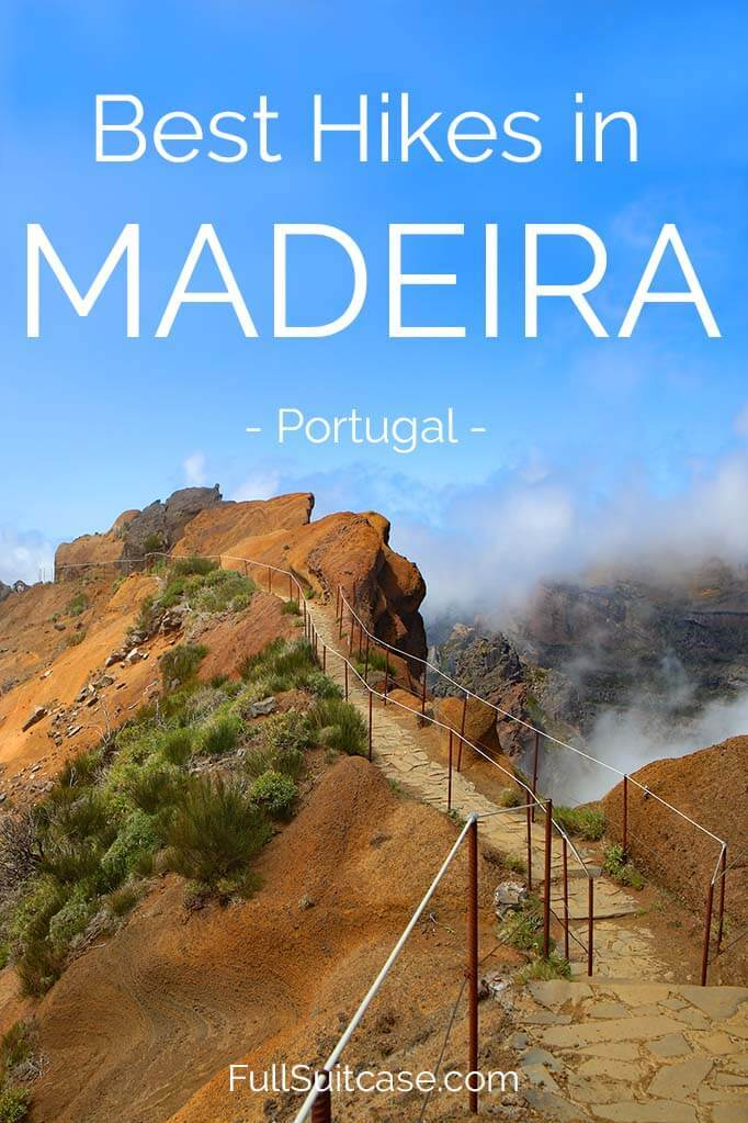 Best hikes and trails in Madeira Portugal
