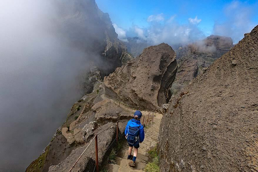 Hiking from Pico do Arieiro to Pico Ruivo - the most beautiful hike in Madeira