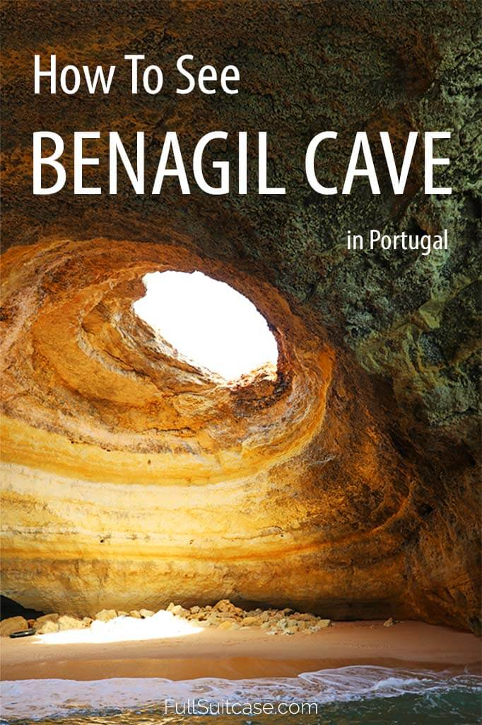How to see the famous Benagil cave in Algarve Portugal