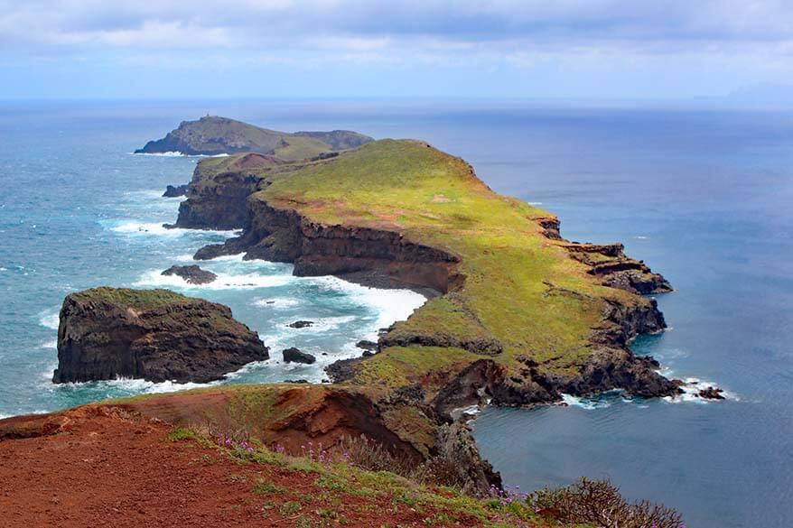Ponta do Furado viewpoint at Ponta de São Lourenco hike in Madeira