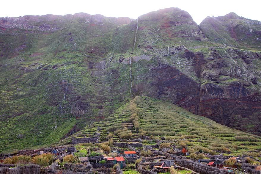 Secluded village in Northern Madeira