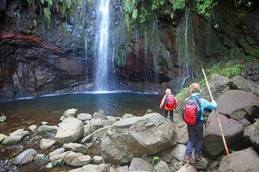 Vereda das 25 Fontes - 25 Springs walk in Madeira