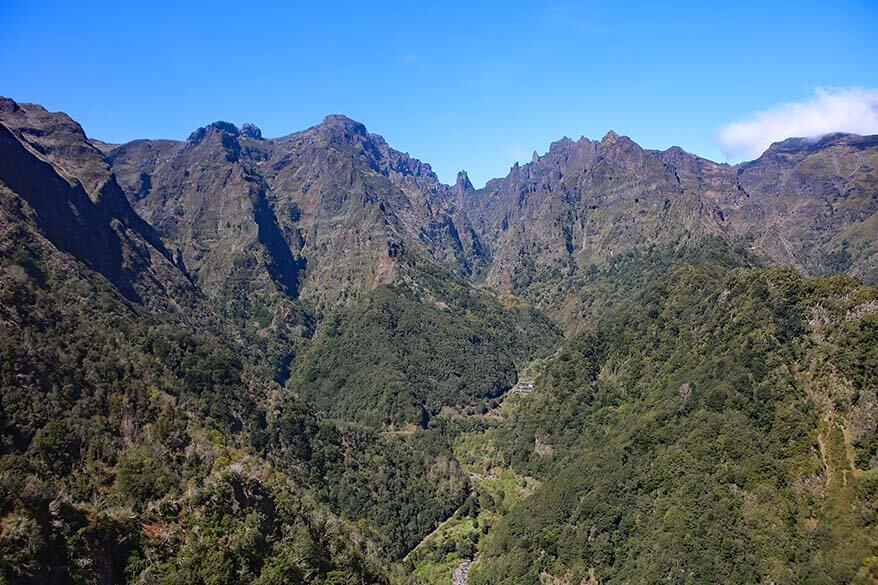 Vereda dos Balcoes is the easiest levada walk on Madeira island in Portugal