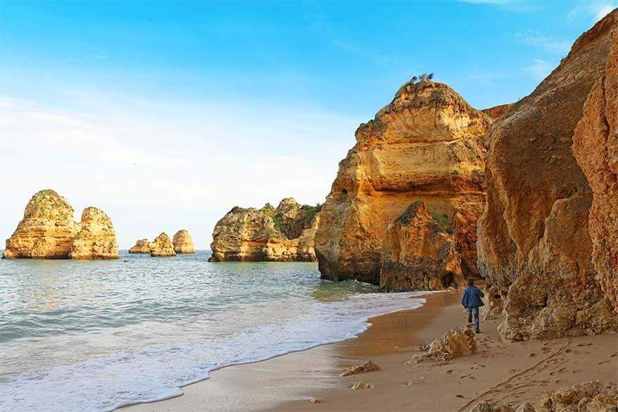 Best scenic beaches in Algarve you shouldn't miss when visiting southern Portugal