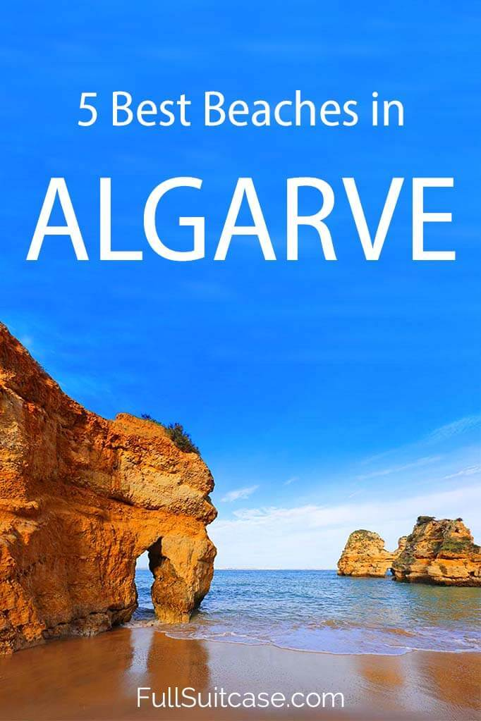 Best beaches in Algarve that you should see when visiting southern Portugal