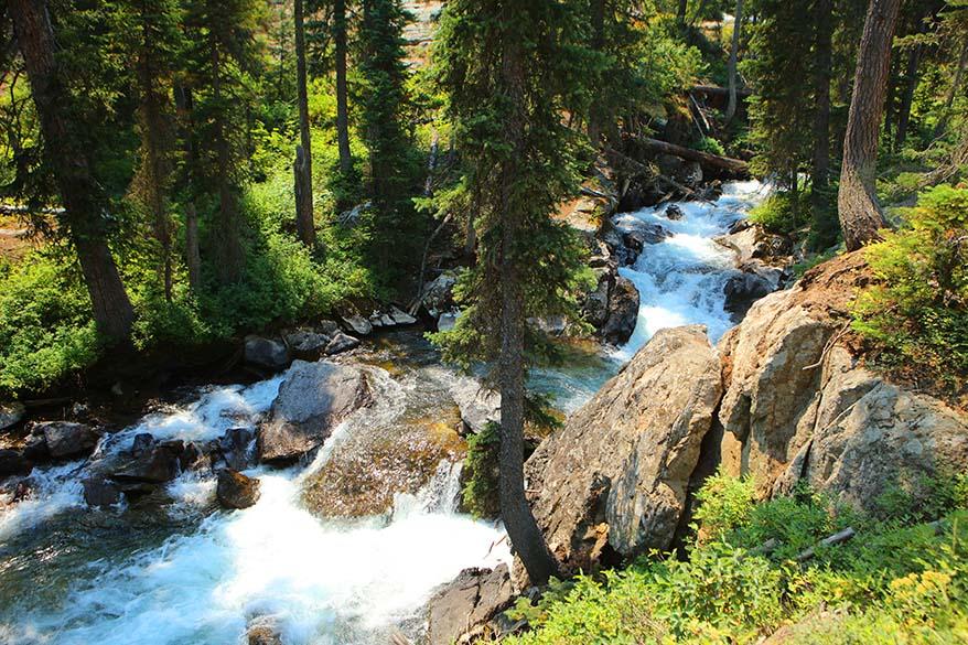 Cascade Canyon Creek near Hidden Falls