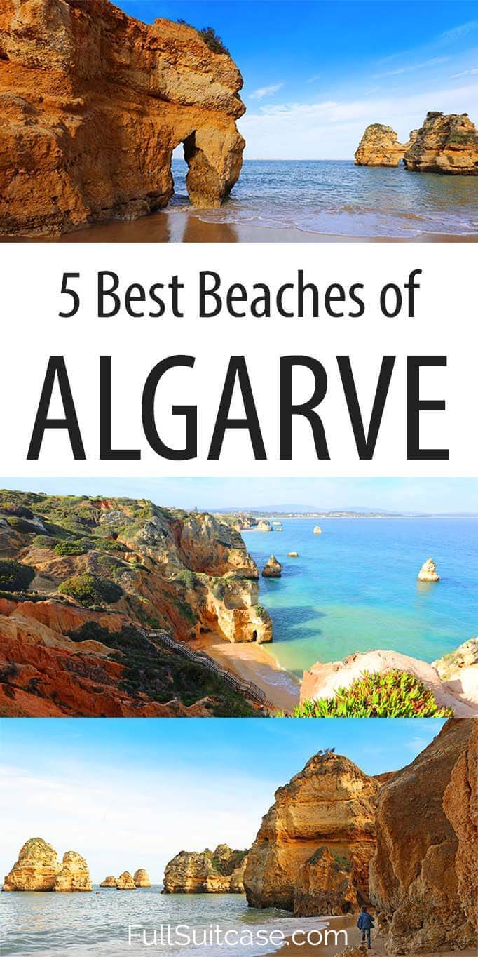 Most scenic best beaches you have to see in Algarve Portugal