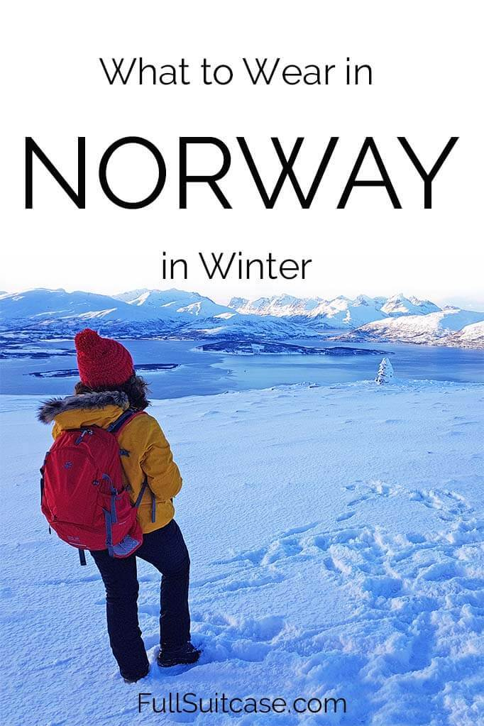 Packing tips for a winter trip to Norway