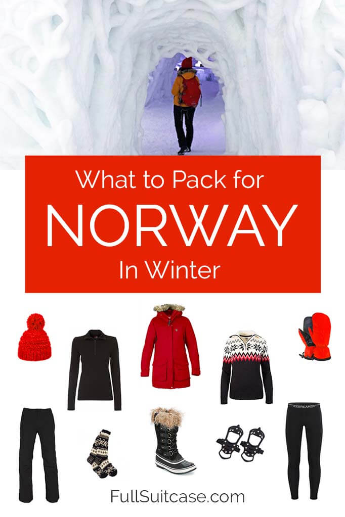 What to pack for Norway in winter
