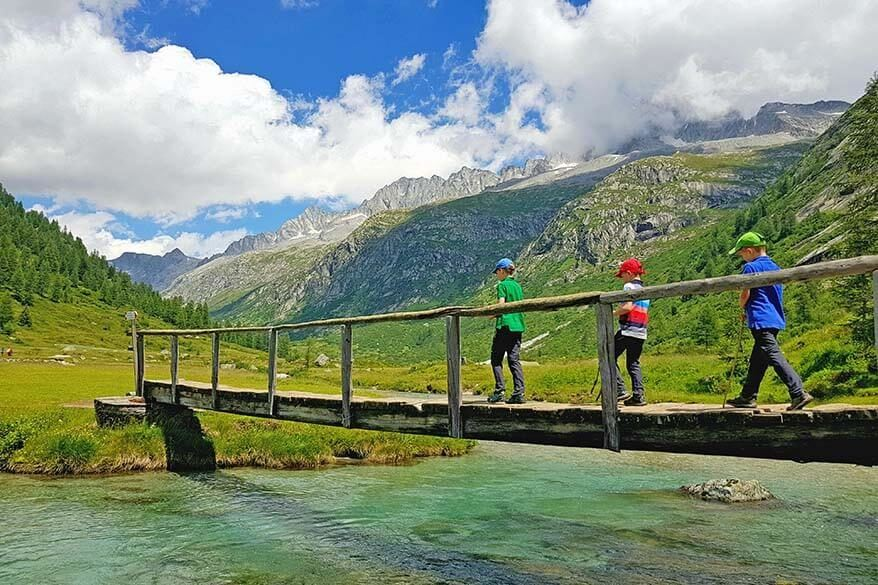 Best summer activities in Trentino region in Italy with kids