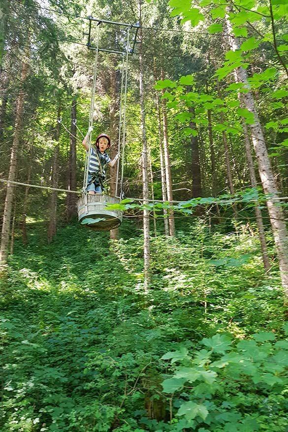Bichlbach adventure park in Tirol