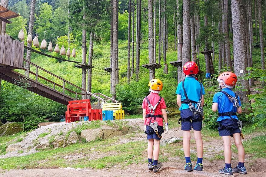 Breg adventure park is fun for the whole family