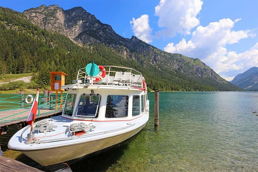 Heiterwangersee - a beautiful lake for recreation in Tyrol Austria