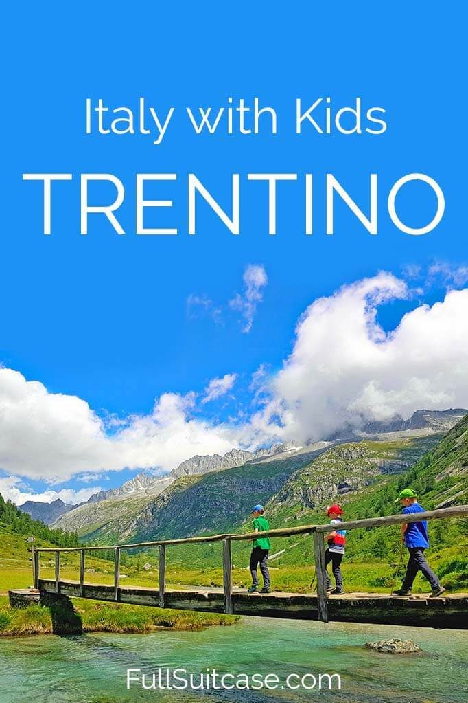 Off the beaten path in Trentino, Italy with kids