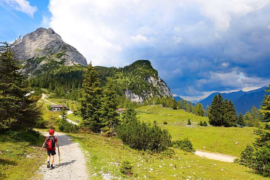 Tyrol with kids - best things to do during summer family holiday in Austria
