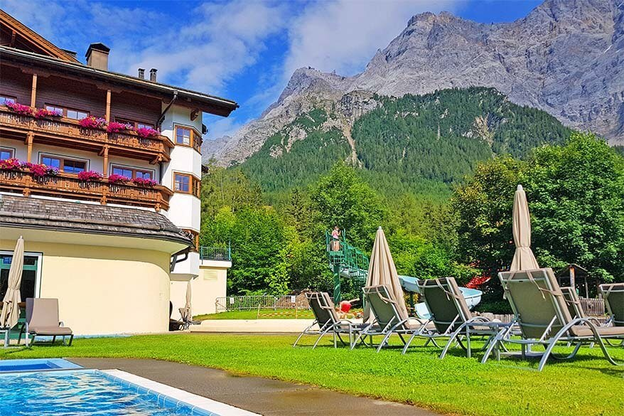 Zugspitz Resort in Ehrwald is a perfect hotel for a family holiday in Tirol
