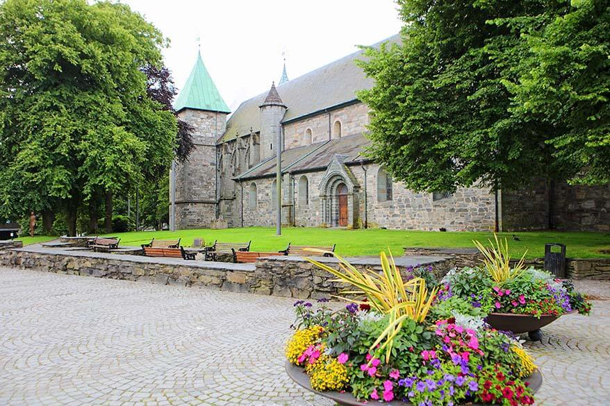 Domkirke - Stavanger cathedral in Norway