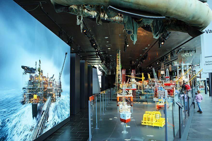 The Norwegian Petroleum Museum is must see in Stavanger