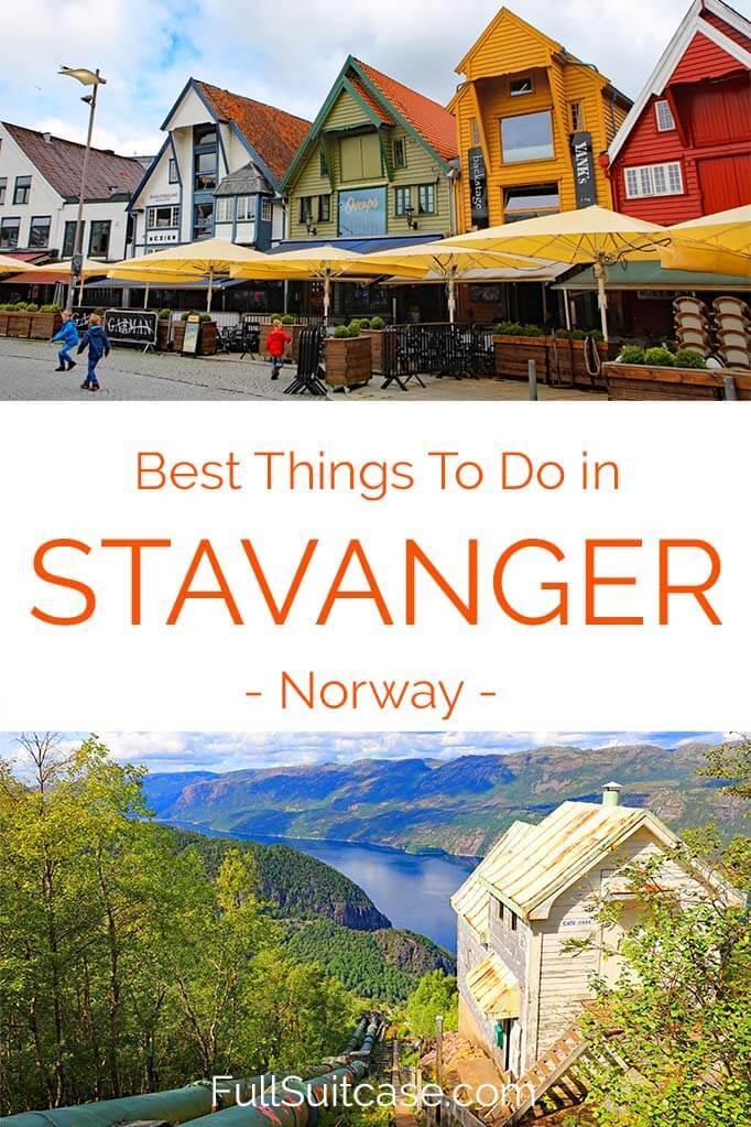 What to see and do in Stavanger Norway