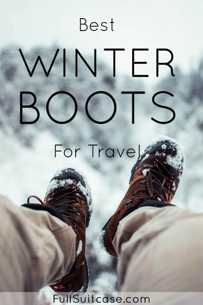 Best travel shoes for winter destinations