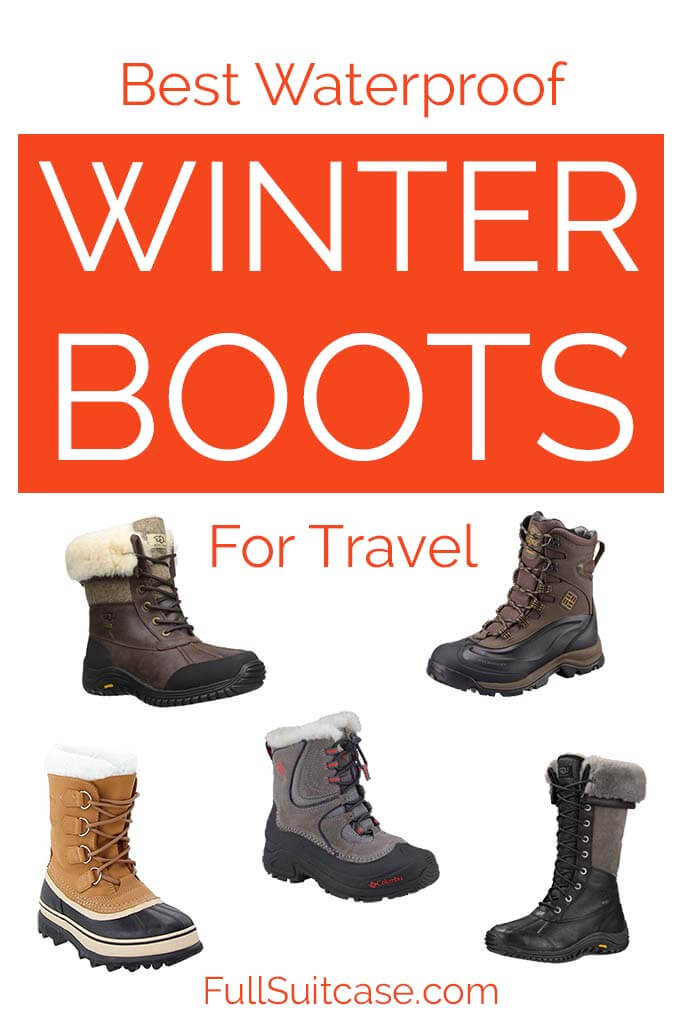 Best winter boots for travel to really cold places