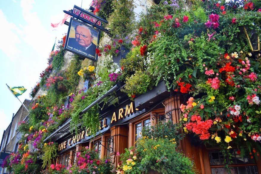 The Churchill Arms -unique pub in London