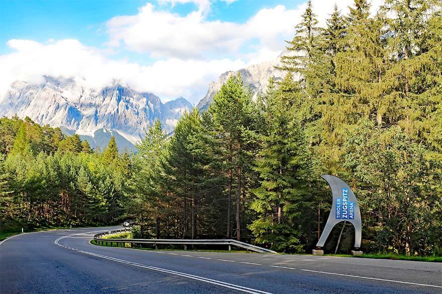 Family trip to Tiroler Zugspitz Arena in summer (Tirol, Austria)