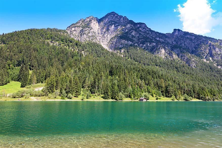 Heiterwanger See in Tirol Austria