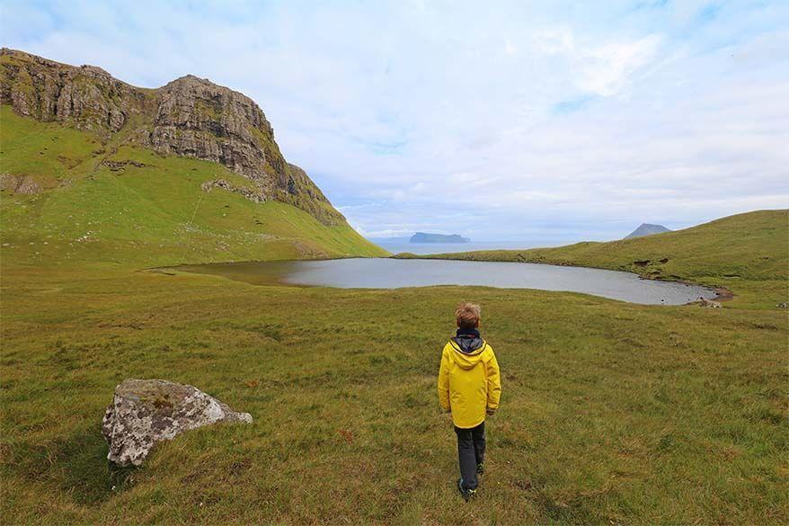 Hvannhagi hike on Suduroy island in the Faroers