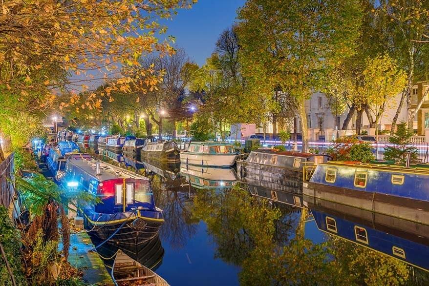 Little Venice is a true gem in London