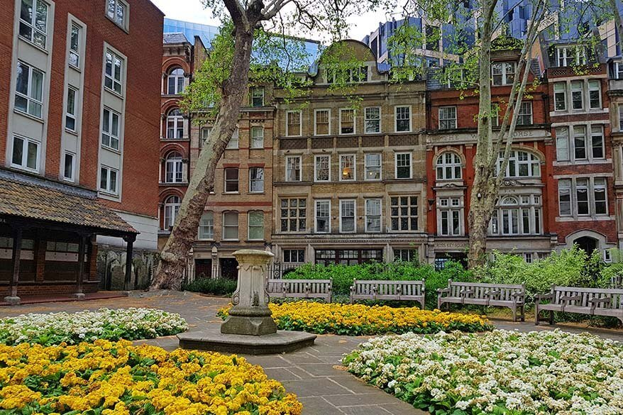Postman's Park and its Wall of Heroes - one of the lesser known hidden gems of London