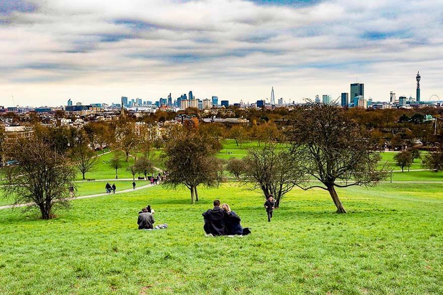 Primrose Hill is a real hidden gem of Central London
